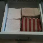 My Simple, Organized…Dish Rag Drawer?